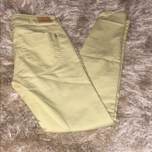 Zara Yellow skinny jeans ⭐️excellent condition⭐️